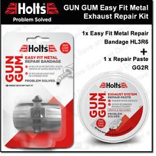 Holts Gun Gum Flexiwrap Silencer Exhaust Easy Fit Metal Repair Kit GunGum HL3R6