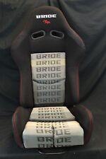 BRIDE GIAS V1 Low Max Black Gradation Cloth Single Reclining Racing Seat Slider