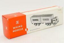 WIKING MODELLE BOITE VIDE POUR CAMION SEMI REMORQUE #521 ONLY BOX