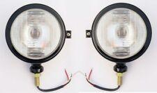 Massey Ferguson tractor head lights black fits 1035 35 135 148