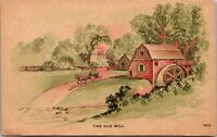 OLD MILL - Berne Indiana - 1908 Postcard - PC - UNPOSTED