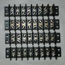QTY (4) Cinch - 8 Position Terminal Blocks