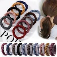 20Pcs Hair Band Women Rubber Bands Headdress Hair Rope Ponytail Holder Elastic