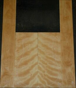 Curly  Birch Back And Side Set Luthier Tonewood