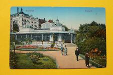 Tschechien CZ AK Karlsbad 1910-20 Karlovy Vary Stadtpark Architektur Hotels +++