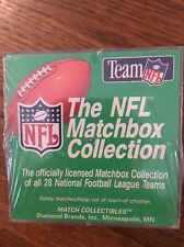 The Team NFL Matchbox Collection - Packers Vikings Lions Falcons Jets Patriots