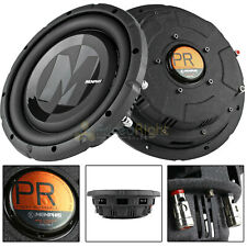 "2 Pack 12"" DVC Shallow Subwoofer 700W Max 4 Ohm Power Reference Memphis Audio"