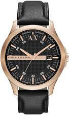 Men's Armani Exchange Whitman Leather Band Watch AX2129