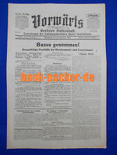 VORWÄRTS (16. Dezember 1916): Buzeu genommen!