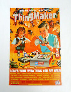 Thingmaker Promotional Poster Gearhead full color compilation Retro theme