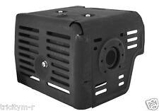 Muffler For Honda GX340 GX390 11 & 13hp Engines W/Shield Replaces:18310-ZE3-W61