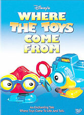 Where the Toys Come From (DVD, 2002) NEW SHIPS FREE USA BRAND NEW DVD!!