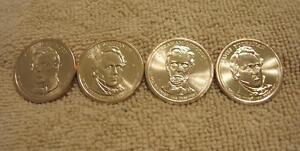 2010 P  PRESIDENTIAL DOLLAR COIN SET    All 4 COINS  PHILADELPHIA
