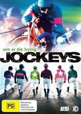 Jockeys - Win Or Die Trying : Season 1 (DVD, 2010, 2-Disc Set) New  Region 4