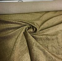 SUPER LUXURIOUS 2TONE BROWN SOFT CHENILLE CURTAIN UPHOLSTERY FABRIC 2.8 METRES
