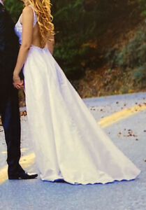 Fairytale wedding Backless dress