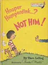 Hooper Humperdink ...? Not Him! 1976 Theo LeSieg Beginner Book Charles E. Martin