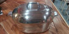 Vintage Wagner Ware Sidney -O- Magnalite 4265 Dutch Oven Pot w/ Lid & Trivet