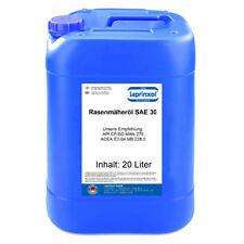 20l SAE30 4-Takt 4-T Rasenmäher-Öl Einbereichs Motoröl MB 228.0 20 Liter