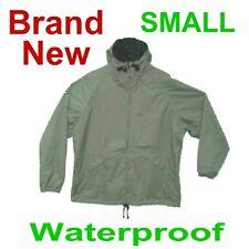 NEW SMALL WALLS WATERPROOF TAN RAIN JACKET/COAT/SLICKER RAINWEAR,ADULT SIZE S