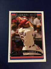 2006 Topps # 263 ALBERT PUJOLS MVP St. Louis Cardinals Sharp MINT