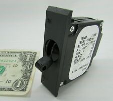 Airpax 1P DC Circuit Breakers 15A 80VDC IEGS1-1REC4-51-15.0-S-01-V Aux. Switch