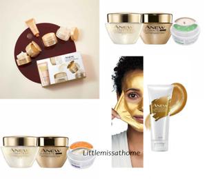 AVON ANEW ULTIMATE SKINCARE 55+ MATURE SKIN day night eye cream water serum mask