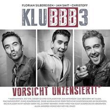 Klubbb3 Vorsicht unzensiert  (CD Album ) NEU OVP  incl. du schaffst das schon
