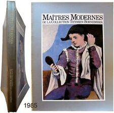 Maîtres modernes collection Thyssen-Bornemisza 1985 Simon Pury Anthony Burgess