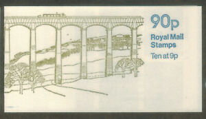 GB 1978 British Canals No2 Llangollen Canal Folded Stamp Booklet MNH