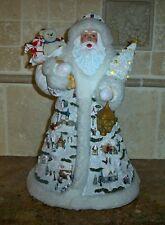 Thomas Kinkade FATHER CHRISTMAS Illuminated Figurine~Villages~Bradford Exchange