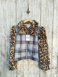Shrimps Checked Short Jacket Size: 8 / Was Selling At Yoox & Farfetch