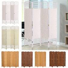 4/6 PANEL FOLDING ROOM DIVIDER WALL PARTITION HAND MADE PRIVACY SCREEN SPERATOR