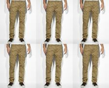 Levi's men's slim straight cargo pants jeans camouflage $68 price NWT size 38/32