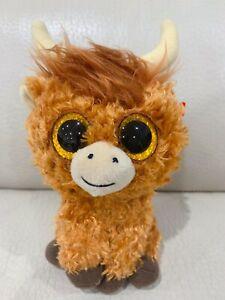 🐮 TY Angus The Scottish Highland Cow (Birthday: Dec 29th) Beanie Babies Boos