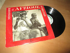 MUSIQUE DES MALINKE / BAOULE - Gerard ROUGET - AFRICAN AFRO CONTREPOINT Lp 1952
