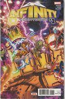 Infinity Countdown #1 NM- 9.2 Marvel Comics Avengers,Wolverine,Captain Marvel