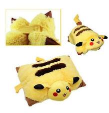 "Pikachu Plush Doll Decorative Cartoon Pokemon Pet Cushion Pillow 17"""