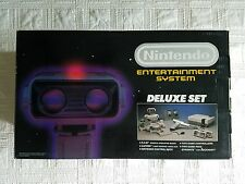 Nintendo (NES) Original Rob the Robot Deluxe Set in MINT Box, Beautiful
