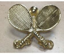 """RACQUETBALL 3"""" METAL PLAQUE SHADOWBOX MOUNT CASTING   - NEW  -  store display"""