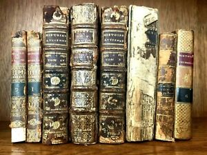 OLD BOOKS LOT 1700-1800s Ancient History, Theater, Mythology, Lots of Engravings