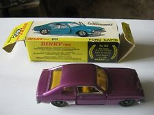 DINKY 165 FORD CAPRI  ORIGINAL EXCELLENT CAR IN LIGHTLY WORN GOOD ORIGINAL BOX .