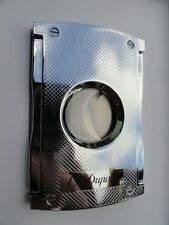 S.T.Dupont Etched Chrome  Cigar Cutter