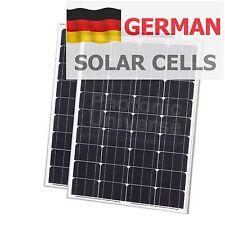 160W solar system (2x80W panels) for charging 12V/24V motorhome battery 80 watt
