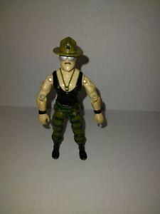 Figurine Vintage Gi Joe Sergent Slaughter 1986 Hasbro
