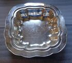 old silver plated centerpiece bowl