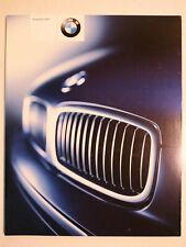 Prospekt BMW Programm 2002, 1.2002, 76 Seiten mit M3,M5,Z8,Z3/M Coupe/roadster