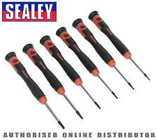 Sealey Tools Microtip Precision Security Torx TRX-Star Driver Set 6pc AK97304
