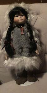 Collectible Alaskan Native Doll -  Rare