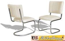 co-28 blanc BEL AIR Meuble 2 chaises swingstuhl dîner de cuisine usa